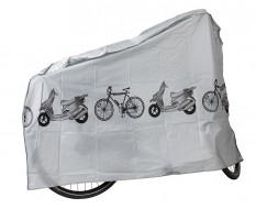 Abdeckplane - Schutzplane für Fahrrad - Roller - Mofa - Rennrad- Fahrradgarage - Fahrradplane