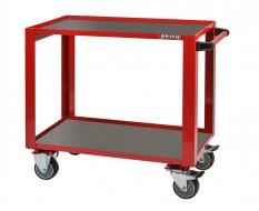 Profi Werkstatt Rollwagen ROT 98 x 50 x 87 cm. Tragkraft 200 kg. - Werkstattrollwagen