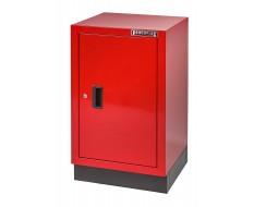 Werkstattschrank Rot 48 x 46 x 84,4 cm mit 1 Tür