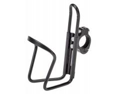 Alu Flaschenhalter Fahrrad - Rennrad - MTB mit Lenkerklemme - schwarz - min. 65 mm. max 75 mm.