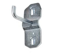 Schmaler kurzer Haken für Lochwand - Lochwandhaken 3 cm - Lochwandhaken Werkzeughalter für Lochwand