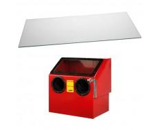 Glasfenster - Glasscheibe für Sandstrahlkabine PP-T 1314