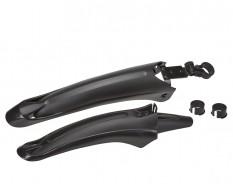 Kunststoff Schutzblech Set für Fahrrad vorne u. hinten - MTB - Rennrad - Mountainbike - Fahrrad Kotflügel Set 2-teilig