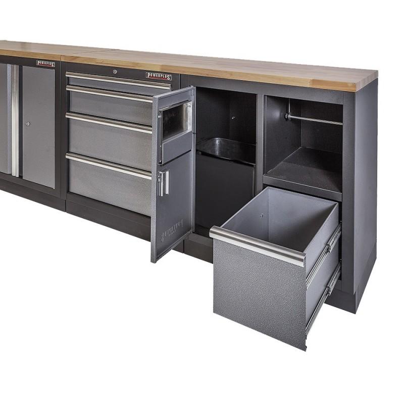 Werkzeugschrank metall  Werkbank Set Komplett mit Hängeschrank Online kaufen ...