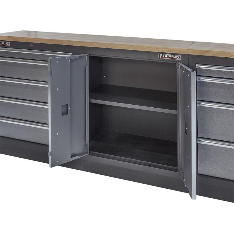 werkbank set komplett mit h ngeschrank online kaufen. Black Bedroom Furniture Sets. Home Design Ideas