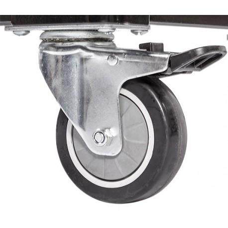 mbelrollen mit bremse simple cheap seelux beweglicher in. Black Bedroom Furniture Sets. Home Design Ideas