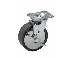 Stahl Rad für Werkstattwagen 0841 - 360° drehbar mit Bremse
