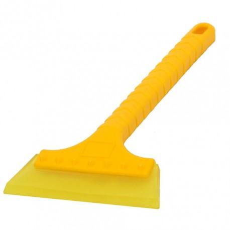Eiskratzer Kunststoff 34 x 14 cm. - Gelb - Eisschaber langer Stiel