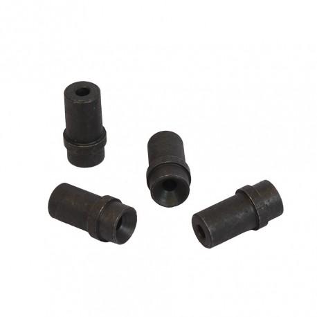 Düsensatz aus Stahl 6 mm - 4 Stück für Strahlpistole - Strahldüsen Set 4 Stk. aus Stahl