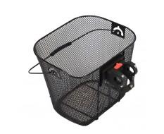 Fahrradkorb vorne abnehmbar - Lenkerkorb click fix - 33 x 25,5 x 24 cm - Feinmaschig